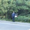 Vanzaghello - La Polizia locale sul luogo dell'incidente