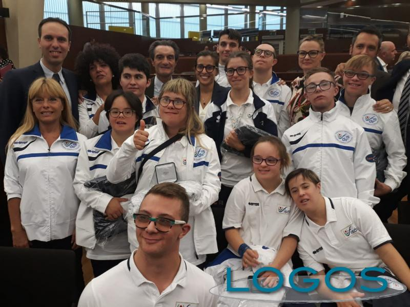 Milano - Regione Lombardia premia lo sport paralimpico
