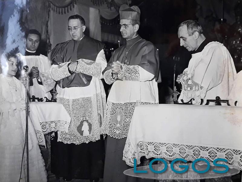 EXPOniamoci - L'allora Arcivescovo di Milano, Giovanni Battista Montini