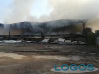 Milano - Incendio a Quarto Oggiaro