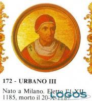 Cuggiono - Papa Urbano III in una storica raffigurazione