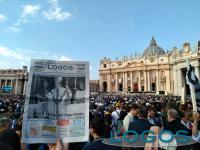 Roma - Logos a Roma per la canonizzazione di Papa Paolo VI