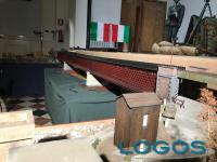 Turbigo - Il modellino del ponte sul fiume Ticino