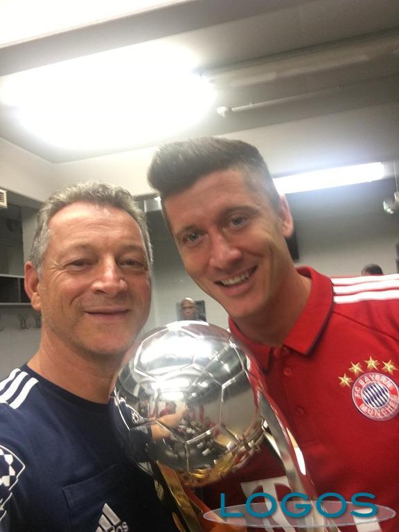Sport / Storie - Gianni Bianchi con Lewandowski