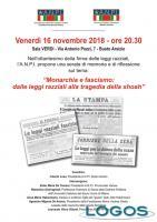 Busto Arsizio - L'incontro 'Monarchia e Fascismo'