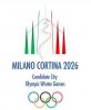 Milano - Il logo della candidatura alle Olimpiadi 2026