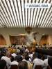 Roma - Il gruppo di Inveruno per la benedizione di Gesù Bambino