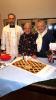 Cuggiono - Giuseppina con il parroco e il sindaco
