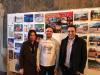 Castano Primo - Alessio Varisco (al centro) di 'Fotografia Costruttiva' con il sindaco Pignatiello e l'assessore Bonalli