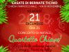Casate - Concerto di Natale in chiesa parrocchiale