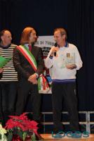 Turbigo - Maurice Gazziero durante la premiazione