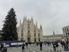 Milano - Piazza Duomo durante le festività natalizie