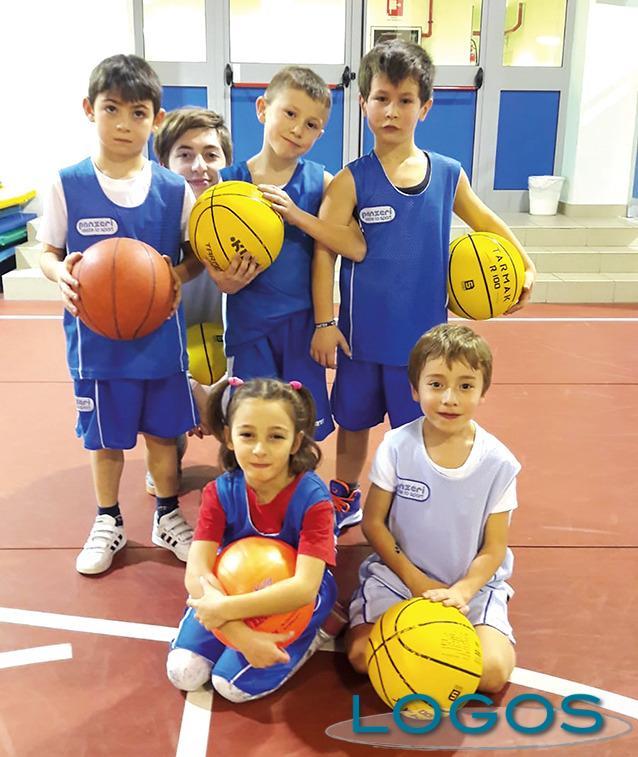Cuggiono - Una delle formazioni del Basket Cuggiono