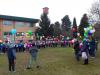 Bernate Ticino - Lancio di palloncini per gli auguri 2018