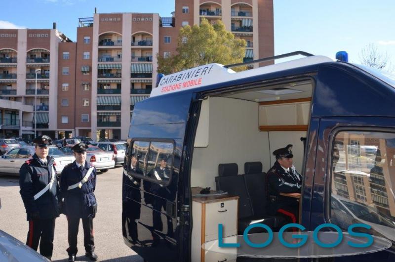 Territorio - La stazione mobile dei Carabinieri (Foto internet)