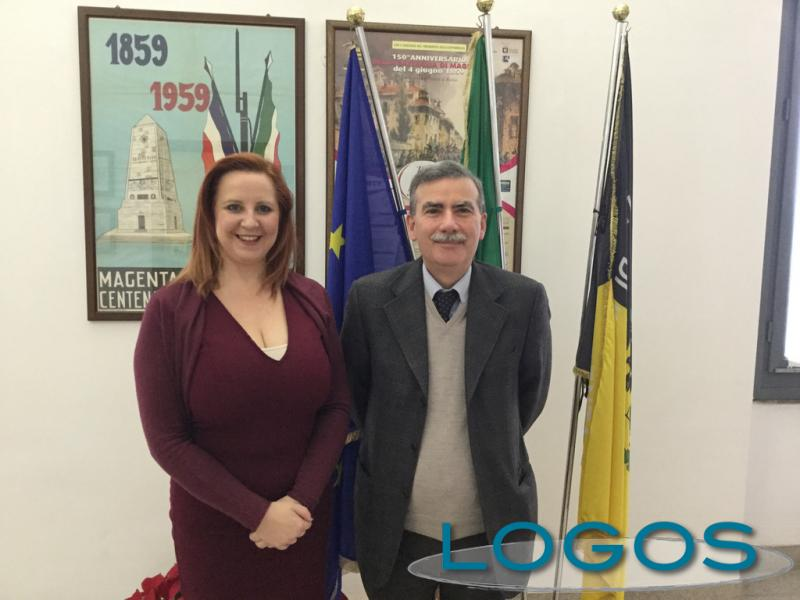 Magenta - L'incontro tra il sindaco Calati e il direttore dell'ASST Odinolfi