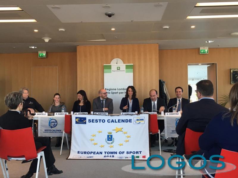 Sport - Sesto Calende 'Comune Europeo dello Sport 2019'