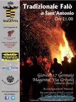 Magenta - Il volantino del Falò di Sant'Antonio 2019