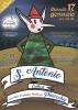Cuggiono - Sant'Antonio contro Pinocchio, falò 2019, la locandina