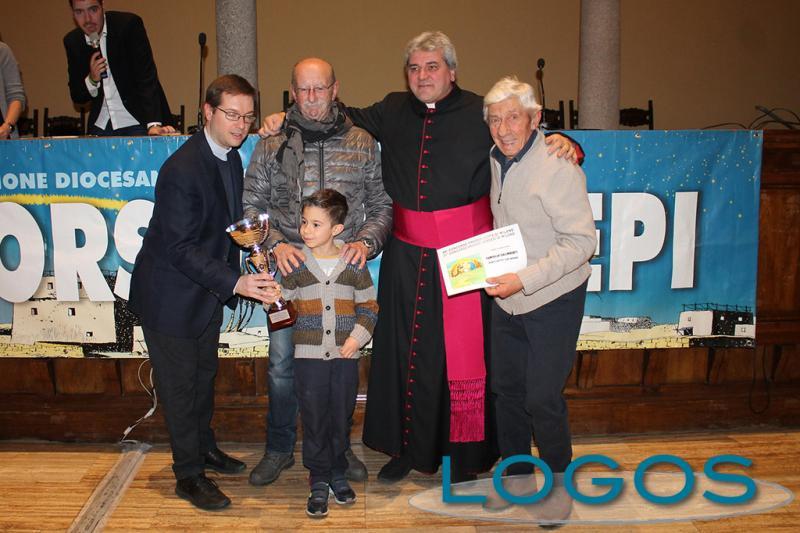 Robecchetto - La famiglia Galimberti ritira il premio diocesano 2019