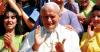 GMG - Papa Giovanni Paolo II alla prima GMG del 1986 (da internet)