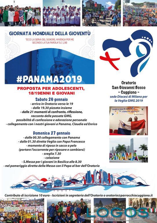 Cuggiono - Veglia GMG Panama, il volantino