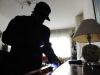 Cronaca - Ladro in un'abitazione (Foto internet)
