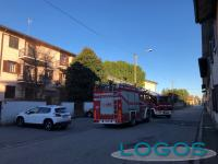Cuggiono - Vigili del Fuoco in via Varese (4 febbraio 2019)