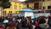 Castano Primo - L'inaugurazione della casa dell'acqua in piazza Mercato
