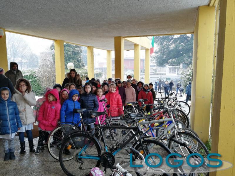 Magenta - Alcune delle biciclette raccolte