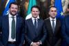 Politica - Salvini, Conte e Di Maio (Foto internet)