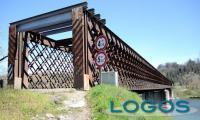 Lonate - Il ponte di ferro sul fiume Ticino (Foto internet)
