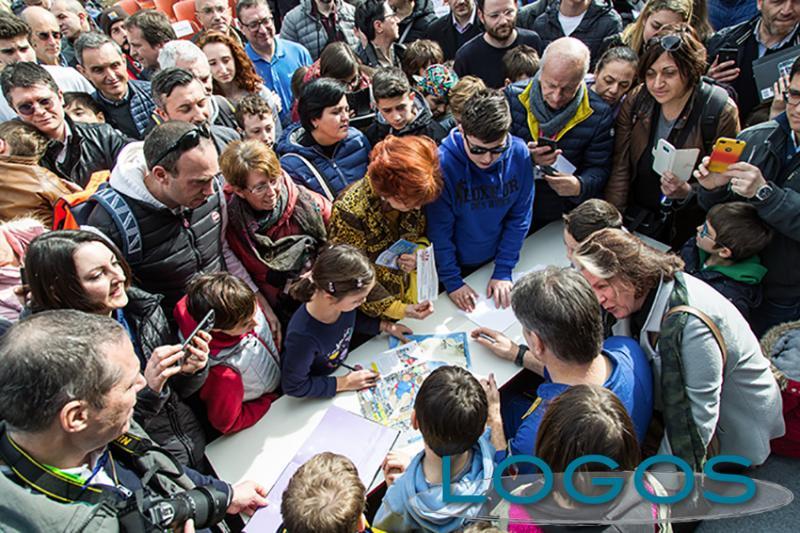 Eventi - Paolo Nespoli taglia il nastro del nuovo padiglione dell'Astronomia e dello Spazio di Volandia (Foto Eliuz Photography)