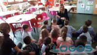 Turbigo - Un momento della mattinata con i piccoli alunni