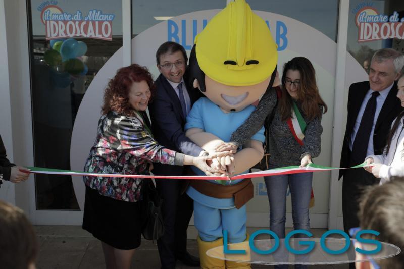 Territorio - L'inaugurazione di 'BlueLab' all'Idroscalo