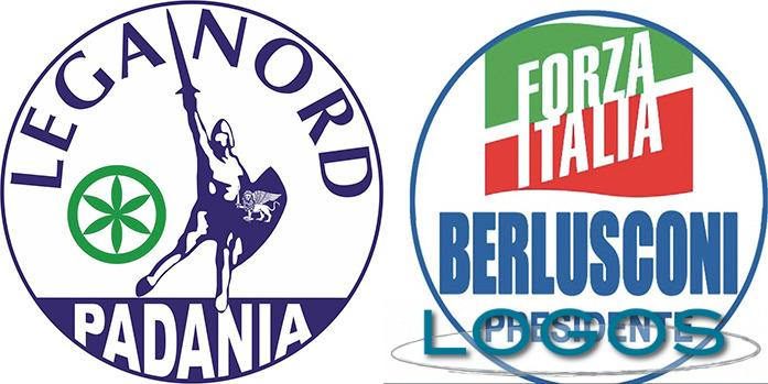Politica - Lega Nord e Forza Italia (Foto internet)