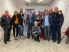 Castano Primo - Il sindaco uscente Giuseppe Pignatiello (al centro) con alcuni componenti della sua squadra (Foto di Franco Gual