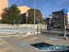 Turbigo - I parcheggi davanti alla stazione ferroviaria (Foto d'archivio)