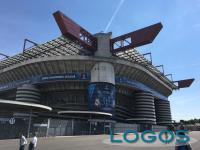 Milano - San Siro prima di una finale di Champions