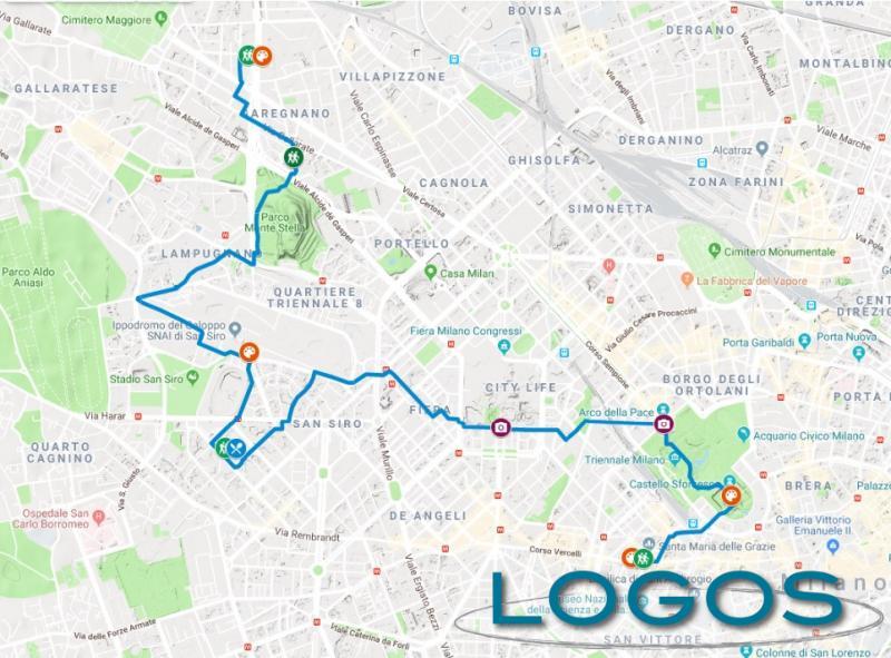Milano - 'Cammina con Leonardo', la prima tappa