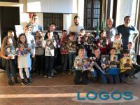 Turbigo - Foto di gruppo per i partecipanti al torneo di scacchi