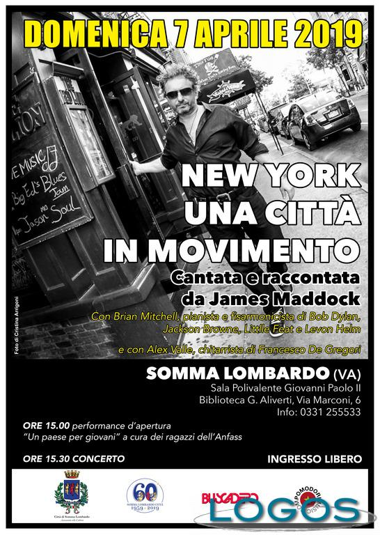 Eventi / Musica - La New York di James Maddock
