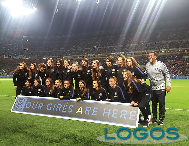 Sport - Benedetta con la squadra dell'Inter Femminile