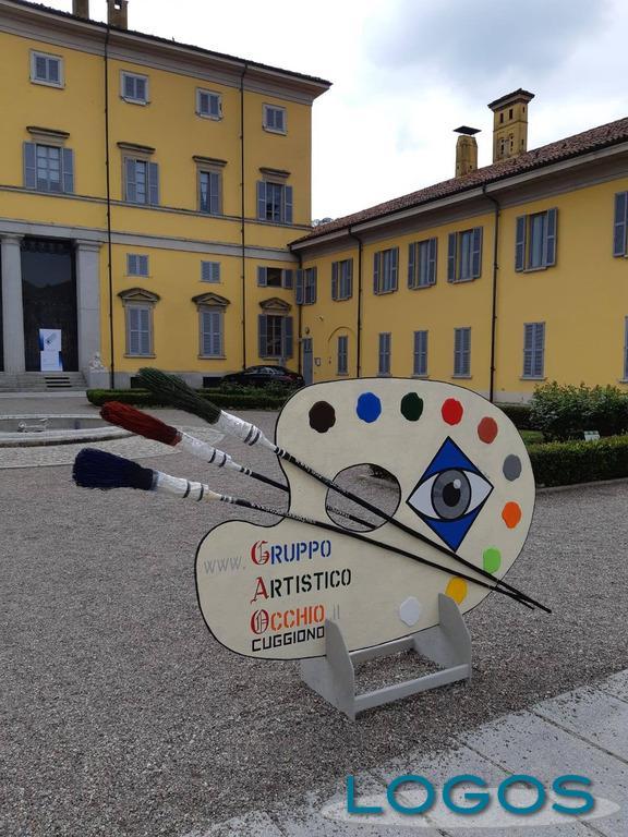 Cuggiono - Gruppo Occhio e mostra in Villa Annoni