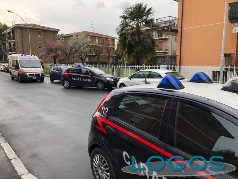 Cuggiono - Soccorsi in via Varese