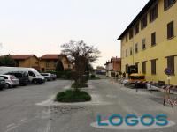 Cuggiono - Largo F.lli Borghi prima dei lavori