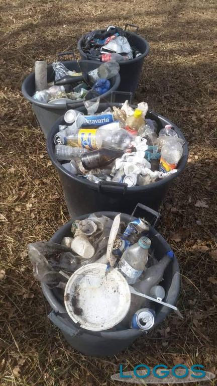 Territorio - Alcuni rifiuti raccolti