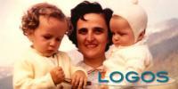 Mesero - Santa Gianna con i figli in una foto d'epoca