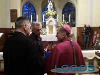 Pontenuovo - L'Arcivescovo Delpini nella chiesa di Santa Gianna
