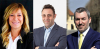 Castano Primo - I tre candidati sindaci: Ferrario, Pignatiello e Moiraghi